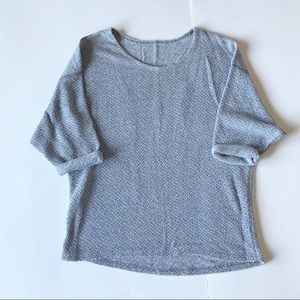 American Apparel Sweaters - OS American Apparel Easy Sweater in Denim Boucle